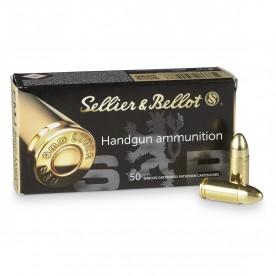 Náboje SB 9 mm Luger FMJ 7,5g 50 ks