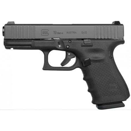 Glock 19 Gen 4 FS samonabíjecí pistole 9mm