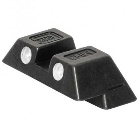 Glock hledí 6,5mm ocelové zelené