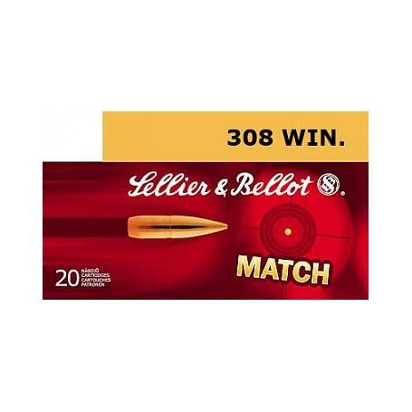 Náboje SB 308 Win. HPBT 11,3 po 20ks