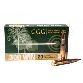 Náboje GGG 308 Win. HPBT 168g po 20 ks
