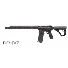 Daniel Defense DDM4 V7 Rattlecan Black