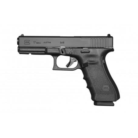 Glock 17 gen4 MOS (Modular Optic System, ráže 9 mm Luger, černý rám
