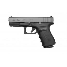 Glock 19 gen4 MOS (Modular Optic System), ráže 9 mm Luger, černý rám