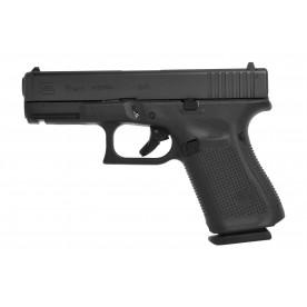 Pistole Glock, model 19 gen5, ráže 9 mm Luger, černý rám