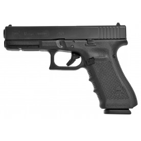 Pistole Glock, model 17 gen4, ráže 9 mm Luger, černý rám