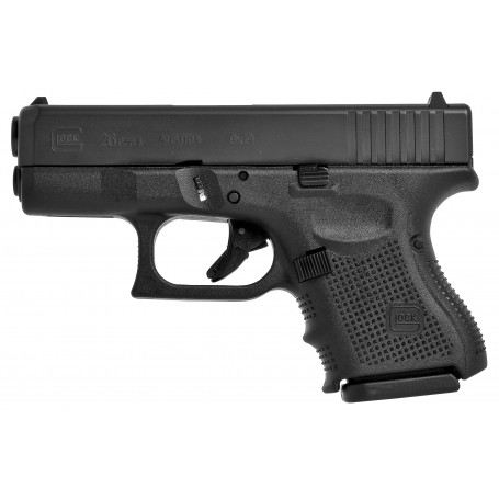Pistole Glock, model 26 gen4, ráže 9 mm Luger, černý rám