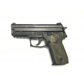 Sig Sauer P229 AL SO, 9mm Luger, Black, handle G10, Trijicon sights