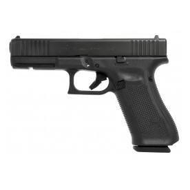 Pistole Glock, model 17 gen5, ráže 9 mm Luger, černý rám