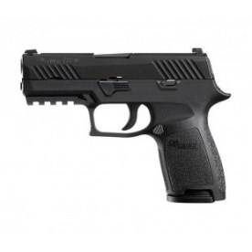 Pistole Sig Sauer, model P320 Compact, ráže 9 mm Luger, černý rám