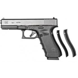 Glock 17 gen4, ráže 9 mm Luger, černý rám