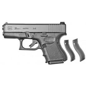 Glock 26 gen4, ráže 9 mm Luger, černý rám
