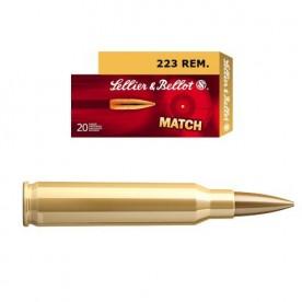 Náboje SB .223 Rem.1ks/25Kč - balení po  20 ks  HPBT 3,36g 1410