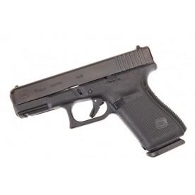 Glock 19 gen5, ráže 9 mm Luger, černý rám