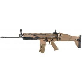 Puška samonabíjecí FN USA, model SCAR 16s, ráže 223 Rem., barva písková.