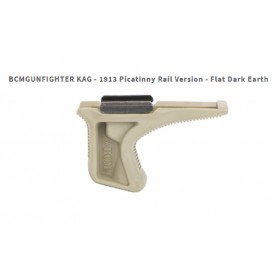 BCMGUNFIGHTER™ Kinesthetic Angled Grip - Picatinny 1913, FDE