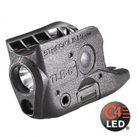 STREAMLIGHT TLR-6, podvěsná zbraňová svítilna na GLOCK 42/43, 100 lm,ČERVENÝ LASER