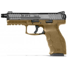 Heckler & Koch SFP9 SF Tactical, RAL8000, ráže 9x19mm