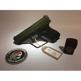Glock 19 gen5, ráže 9 mm Luger, cerakote OD Green (ATAC)