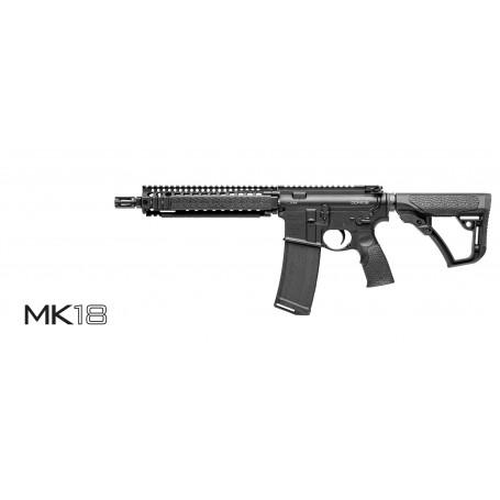 Puška samonabíjecí DANIEL DEFENSE, model MK18, ráže 223 Rem., barva černá