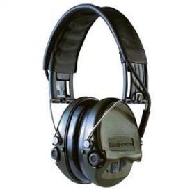 Sluchátka MSA SORDIN / Supreme  Pro - X zelená, gel, kožený